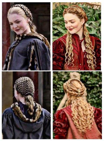 Coiffure Style Moyen Age Renaissance Hairstyles Historical Hairstyles Medieval Hairstyles