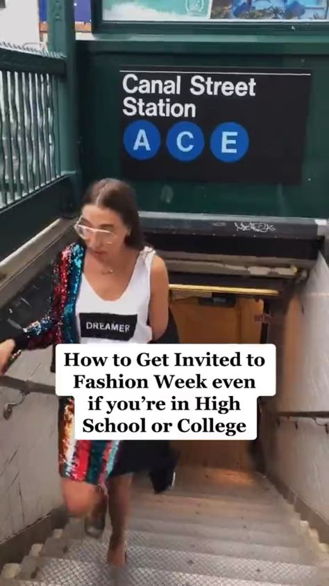 How to Get Invited to Fashion Week