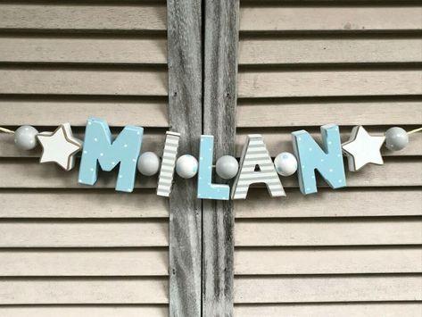 """tafeln, schilder & buchstaben """"milan"""" namenskette"""