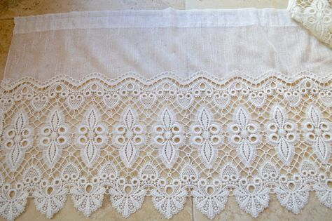 Antique Belgian Lace Curtain Panel 1920s Or By Trilystreasures