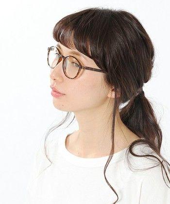 おしゃれメガネ女子必見 眼鏡 ヘアスタイル のgoodバランスとは キナリノ 眼鏡 女子 ヘアスタイル 髪型