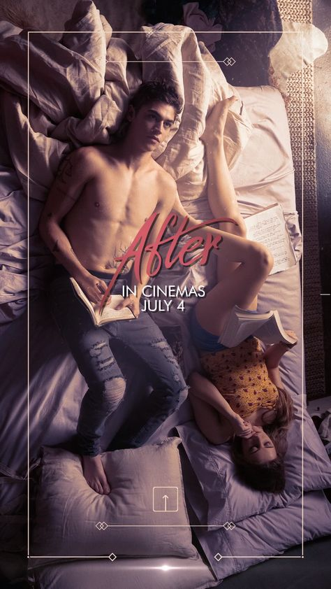 Based on Anna Todd's best-selling novel, After follows Tessa, a dedicated student, dutiful daughter and loyal girlfriend to her high school sweetheart, as she enters her first semester in college. Armed with grand ambitions for her future, her guarded world opens up when she meets the dark and mysterious Hardin Scott, a magnetic, brooding rebel who makes her question all she thought she knew about herself and what she wants out of life.