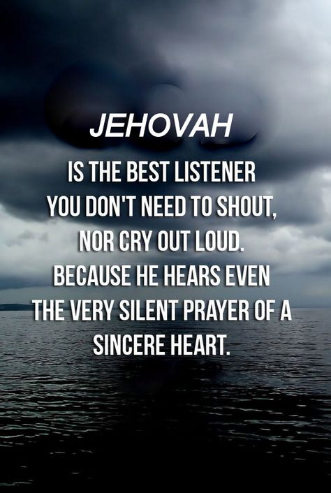We should all be blessed that we can do this with our heavenly father,Jehovah.