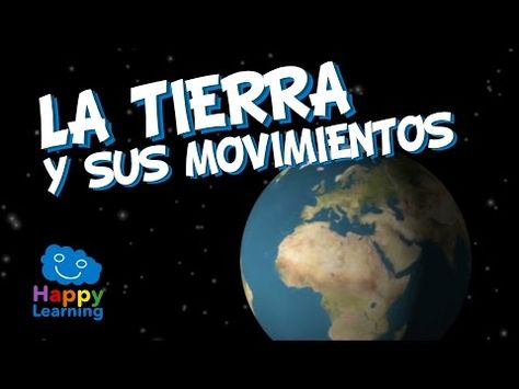 La Tierra y sus Movimientos | Videos Educativos para Niños - YouTube