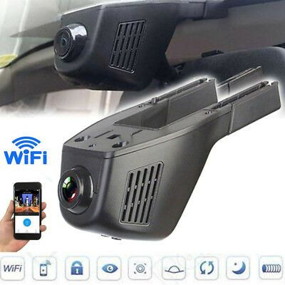 Hidden 1080P Car Camera WIFI DVR Dash-Cam Video Recorder Camcorder Night Vision