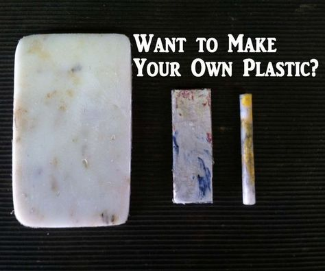 Make Your Own Plastic: Many of us use plastic in our projects, but did you know you can melt down and reuse much of the plastic found in your house? In this instructable you'll see how to recycle plastic to be reused for whatever you want.