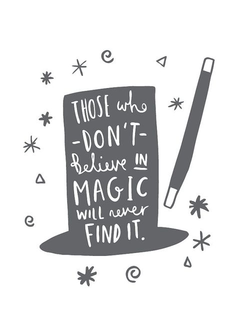 Magic Print Roald Dahl Quote  - 'The Quote' yes but there are miracles to believe in too x