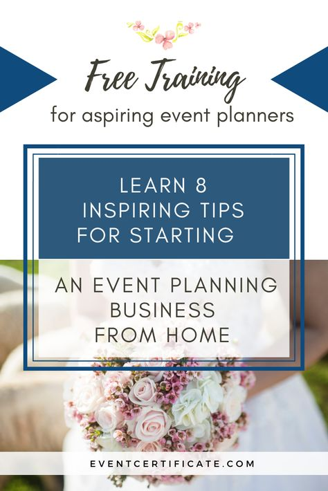 Pin By Event Certificate Online Marketing Tips For Wedding Planners On Wedding Planner Business Tips Event Planning Business Event Planning Free Training