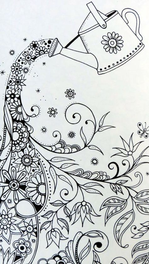 75 Creative Doodle Art Tutorials And Examples Zentangle Drawings Coloring Books Doodle Art