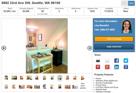 Real Property Associates Inc Seattlerental Profile Pinterest