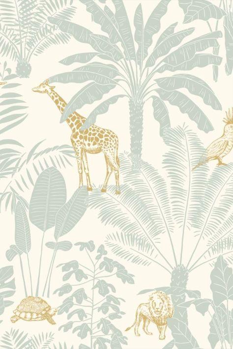 Jungle Trip Wallpaper by Caselio