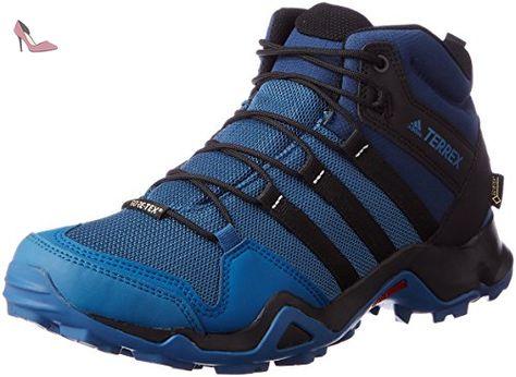 Adidas Terrex Ax2r Mid Gtx, Bottes de Randonnée Homme, Bleu