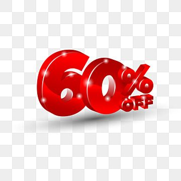 Special Offer Sale 60 Off Red Tag Discount Price Label Symbol For Advertising Campaign In Retail 3d Ad Advertisement 60 Png And Vector With Transparent Backg Prints For Sale Banner Template
