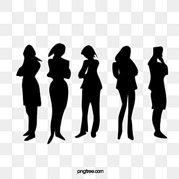 Troubled Woman Silhouette Vector Woman Clipart Professional Figure Occupation Png Transparent Clipart Image And Psd File For Free Download In 2021 Silhouette Vector Woman Silhouette Woman Face Silhouette
