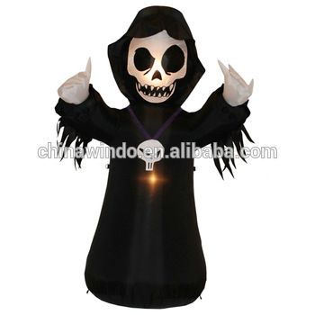 Pin by Angel Tian on Halloween skull,hand,haued house,pumpkin,gost - lowes halloween inflatables