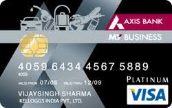 My Business Credit Card Is Issued By Axis Bank The Credit Card Offers Low Interest Rates And Plenty Business Credit Cards Bank Credit Cards Credit Card Design