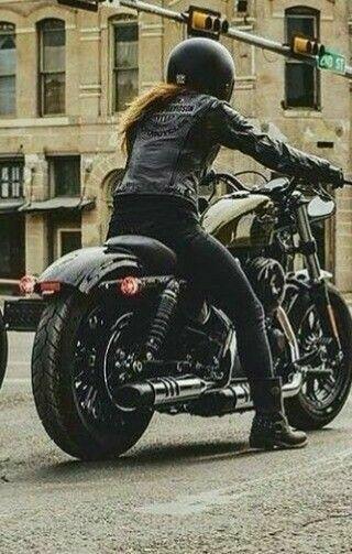Harleydavidsonsportsterwomen Female Motorcycle Riders