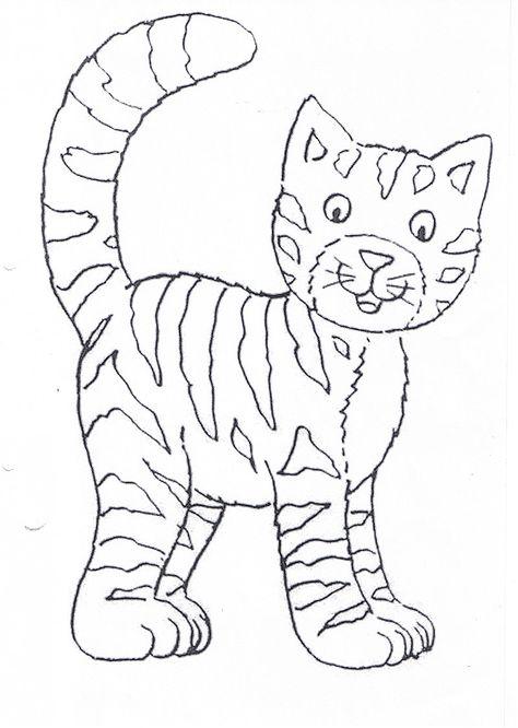Katze Ausmalbild Ausmalbilder Katzen Ausmalbilder Kinder Katze
