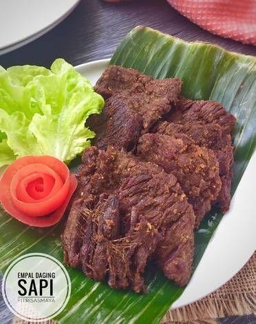 Resep Empal Daging Sapi Kitaberbagi Oleh Fitri Sasmaya Resep Resep Masakan Masakan Resep Daging Sapi