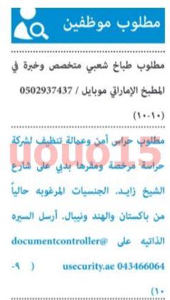 وظائف جريدة البيان الاماراتية