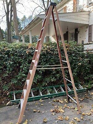 Ad Ebay Ladder A Frame 10 Ft Fiberglass Aluminum Ladder Frame Material Handling