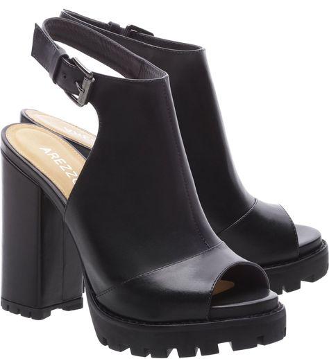4da084e666 Sandal Boot Couro Fall Tratorada