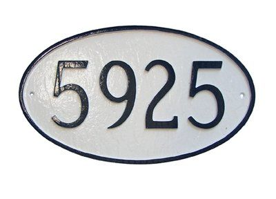 Montague Metal Products Inc 1 Line Wall Address Plaque Background Color Navy Gold In 2020 Address Plaque Montague Metal Products Address Sign