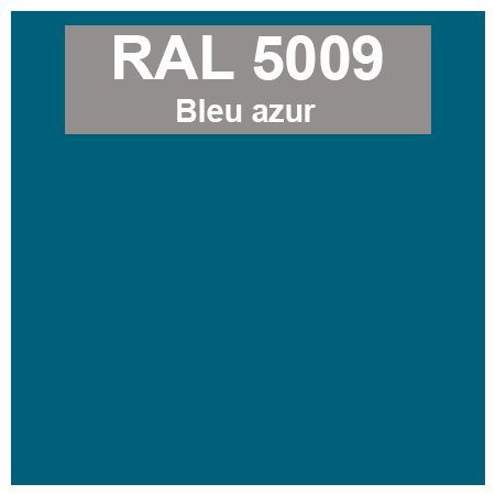 Code Teinte Ral 5009 Bleu Azur Teinte Ral Teinte Peinture