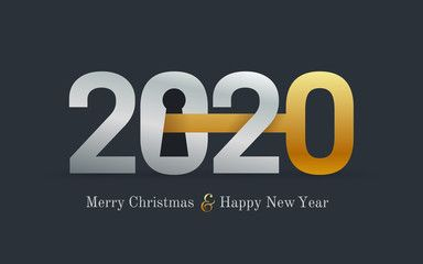 2020 New Year Card For Real Estate Company Happy New Year 2020 Concept With Key And Door Lock Realt Happy New Year 2020 Real Estate Companies Real Estate Ads