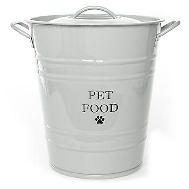 Top Paw Stainless Steel Food Storage Container Dog Storage