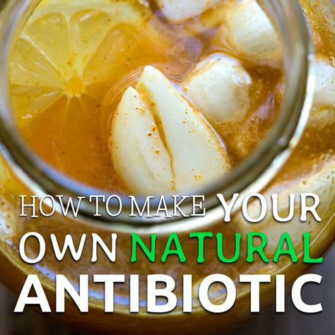 This natural #antibiotic is quick, easy to make, and extremely beneficial. It has no side effects over your body as well.