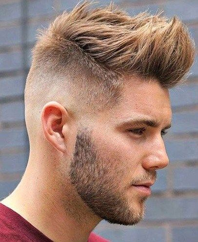 Fade Front Spikes Hairstyle Hipster Hairstyles Hipster Haircut Hipster Haircuts For Men