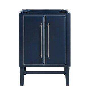 Avanity Mason 24 In Single Bathroom Vanity Cabinet Only In Navy