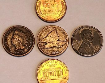 Complete Set 1943 World War 2 Steel Wheat Pennies All 3 Etsy In 2020 Old Coins World War Penny