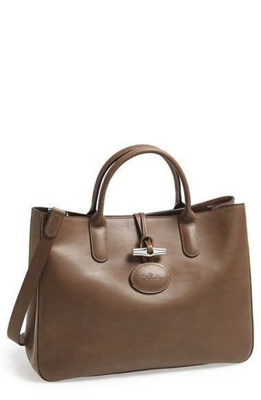 Longchamp 'Roseau - Heritage' Tote | Nordstrom | Longchamp roseau ...