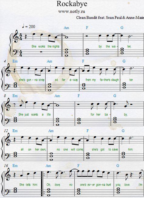 Piano Sheets Clarinet Sheet Music Trumpet Sheet Music