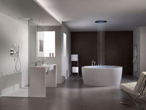 Salle de bains gros béton | Décoration intérieure | Pinterest ...