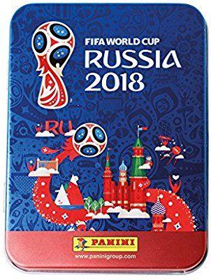 Panini Fifa World Cup 2018 Sticker Mega Tin Amazon Co Uk Toys Games World Cup Fifa World Cup World Cup 2018