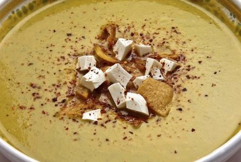Zucchini Soup with Tortilla Crisps : Pati's Mexican Table
