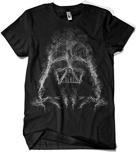 Darth Smoke T-Shirt Donnie Camisetas La Colmena 319-Parodie Star Wars