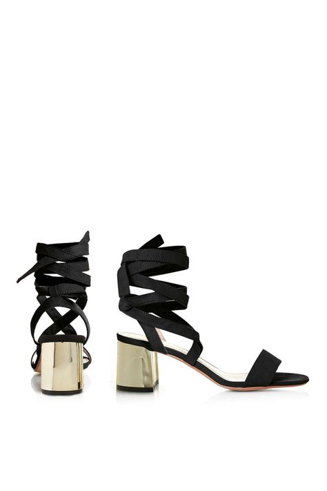 08b39c463684 DELILAH Tie-up Sandals - New In- Topshop USA