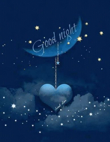 Good Night Stars GIF - GoodNight Stars Moon - Discover & Share GIFs
