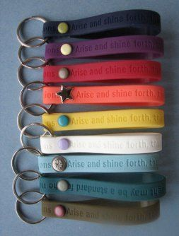 Turn your cause bracelets into key chains