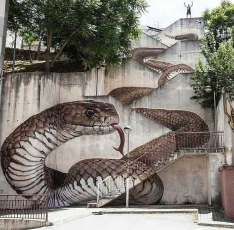 Serpent Stairs - Incredible Street Around From All Around The Globe - Photos