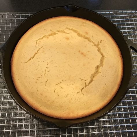 12 Inch Cast Iron Skillet Cornbread Cast Iron Skillet Cornbread Sweet Savory Recipes Cooking Cornbread