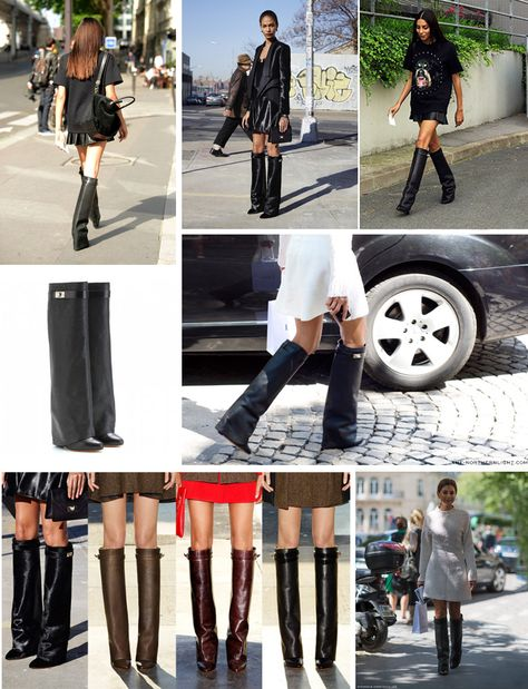 nuovo concetto 8140f 54dea Can not wait to wear my Givenchy Shark Lock boots this fall ...