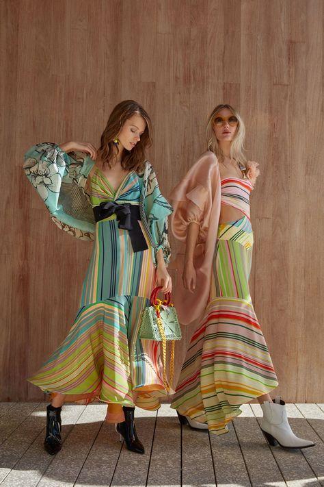 Vintage Fashion Silvia Tcherassi Pre-Fall 2019 Collection - Vogue - The complete Silvia Tcherassi Pre-Fall 2019 fashion show now on Vogue Runway.