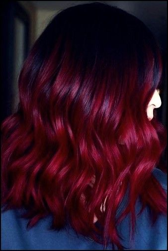 27 Princely Dark Red Hairstyles For Women In 2020 Deep Red Hair Dark Red Hair Color Hair Color Orange