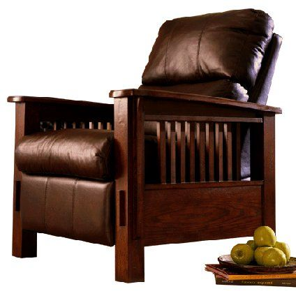 Mission Craftsman Leather Morris Recliner Mission Furniture Mission Style Furniture Furniture