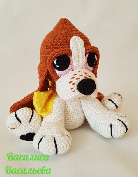 Bruno The Dog: Free Crochet Pattern! | Bonecas de crochê, Modelos ... | 609x474
